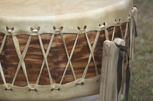When you feel lonely, confused, insecure, unsettled, sad, angry, hurt or do not know what to do next, take the drum and play it.