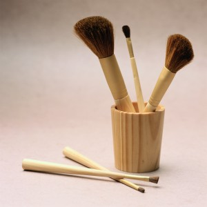 A good set of makeup brushes will last you seven years if taken care of properly.