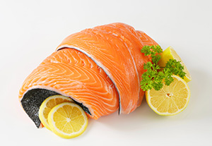 Salmon has heart-healthy omega-3 fatty acids, but a 3-ounce piece of sockeye salmon contains more than 100 percent of your daily vitamin D.