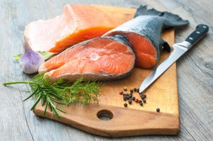 Because the main focus of the nutrient benefit of salmon is its amazing omega-3 content, other unique health benefits are often overlooked, such as its protein and amino acid content.