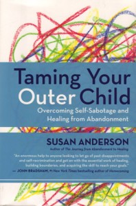 Your outer child acts out and fulfills your legitimate childlike needs and wants in the wrong place, at the wrong time and in counterproductive ways — it goes for immediate gratification and the quick fix in spite of your best-laid plans.