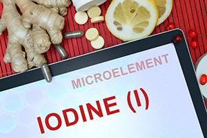 Research indicates that the entire world population is deficient in iodine, even if iodized salt is part of one's diet.