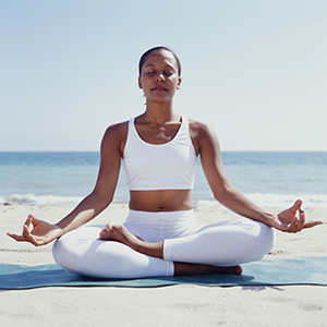 Yoga, a Sanskrit term, means yoke or union — a union with the divine.