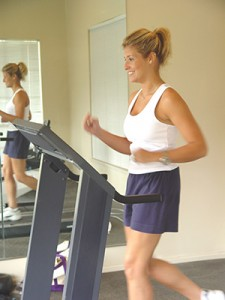 Beginning an exercise program is the hardest part, so ease into it. However, you do need to push yourself.