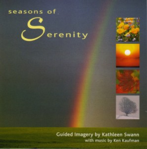 Seasons of Serenity contains guided imagery with calming music.