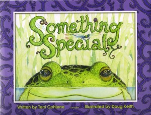 A curious little frog finds a mysterious gift outside his home near the castle moat. What can it be?