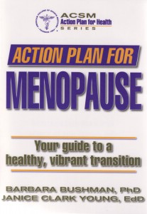 The book is a comprehensive guide that focuses on exercise as a primary means to control or alleviate the symptoms of menopause.