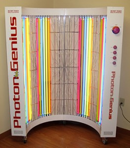 Energize your body's natural healing with photon energy and far infrared sauna treatments.
