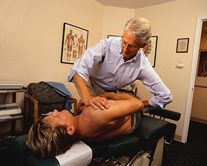 With a trained medical eye, an osteopath, by working with his hands, can diagnose myriad issues that might have been previously undetectable.