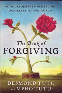 After much reflection on the process of forgiveness, Tutu has seen that there are four important steps to healing — admitting the wrong and acknowledging the harm; telling one's story and witnessing the anguish; asking for forgiveness and granting forgiveness; and renewing or releasing the relationship.