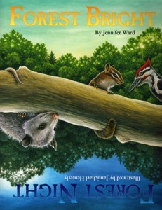 The story features rhyming, simple text with which children count forest animals and learn about their behavior.