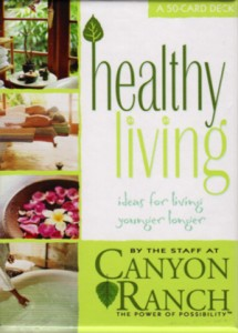 With these cards, you will discover the joy and power of healthy living that makes Canyon Ranch so unique.