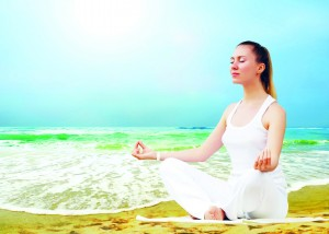 Prepare for a meditative state and go deep within and silence all thoughts.