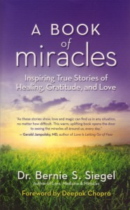 "Siegel first wrote about miracles when he was a practicing surgeon and founded Exceptional Cancer Patients, a groundbreaking synthesis of group, individual, dream and art therapy that provided patients with a ""carefrontation."""